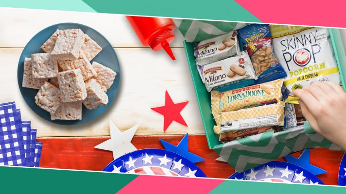 4th of July Snack Table